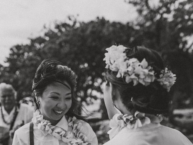 Jen and Carmen's Wedding in Kamuela, Hawaii 36
