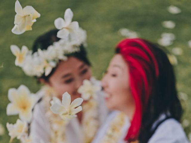 Jen and Carmen's Wedding in Kamuela, Hawaii 39