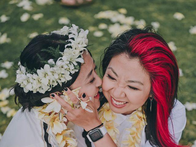Jen and Carmen's Wedding in Kamuela, Hawaii 40