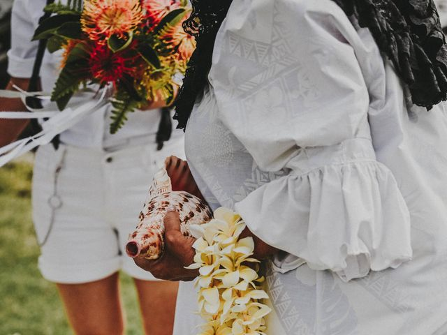 Jen and Carmen's Wedding in Kamuela, Hawaii 50