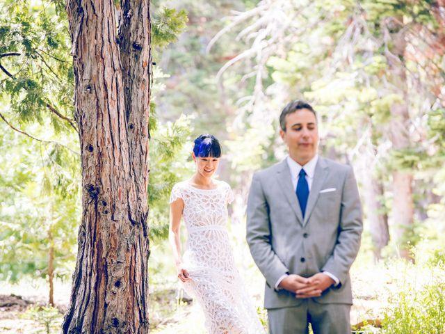 Fay and Scott's Wedding in Tahoe City, California 8