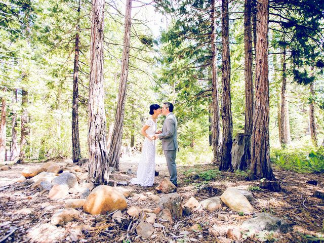 Fay and Scott's Wedding in Tahoe City, California 9