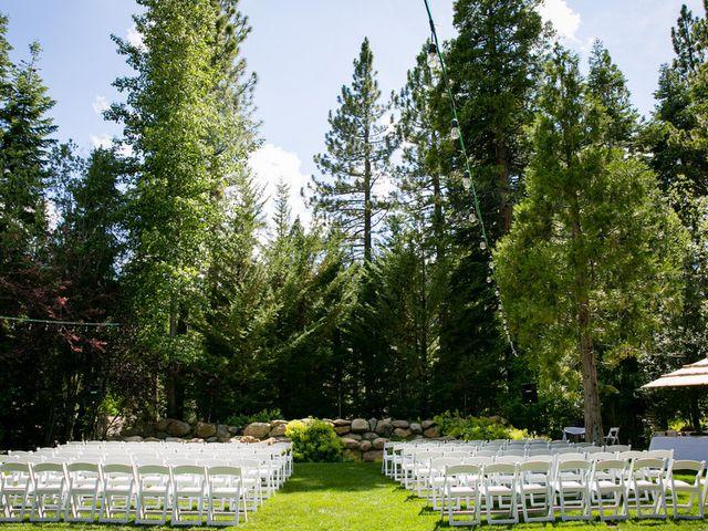 Fay and Scott's Wedding in Tahoe City, California 12