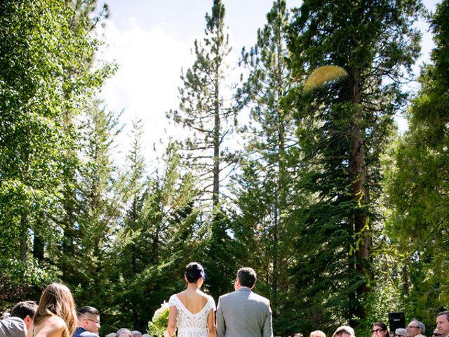 Fay and Scott's Wedding in Tahoe City, California 14