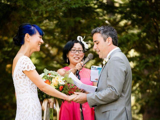 Fay and Scott's Wedding in Tahoe City, California 15