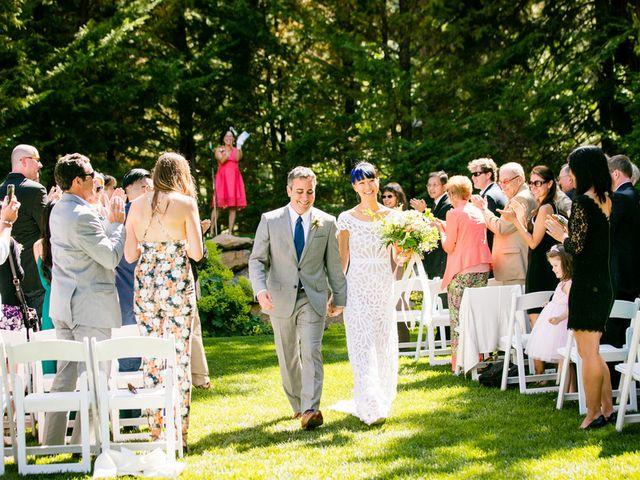 Fay and Scott's Wedding in Tahoe City, California 17