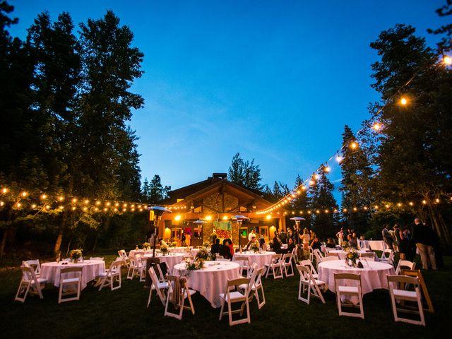 Fay and Scott's Wedding in Tahoe City, California 24