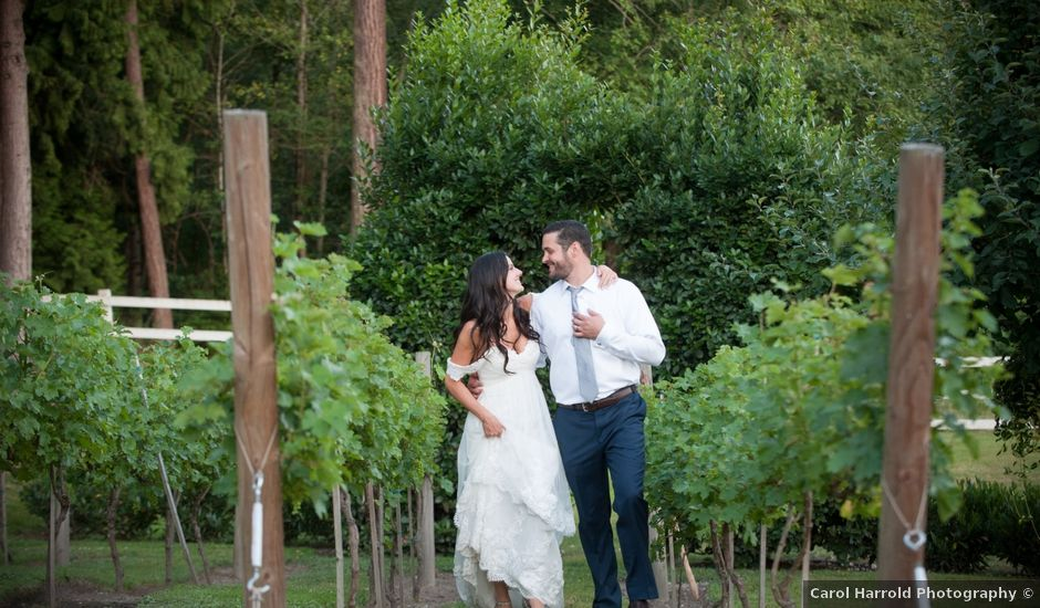 Cody and Katie's Wedding in Woodinville, Washington