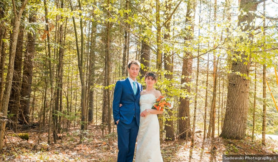 Gavin and Chloe's Wedding in Franconia, New Hampshire