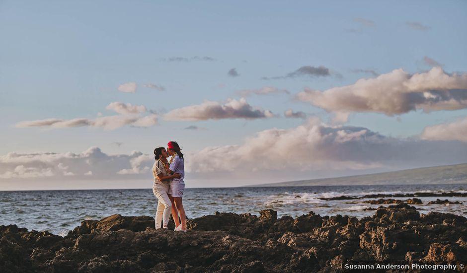 Jen and Carmen's Wedding in Kamuela, Hawaii