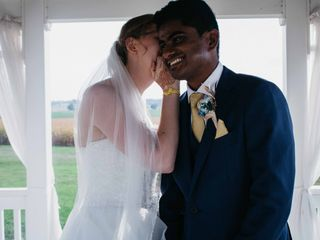 The wedding of Emily and Vikhna