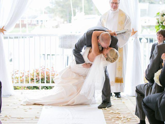 Candace and Jason's Wedding in Virginia Beach, Virginia 16