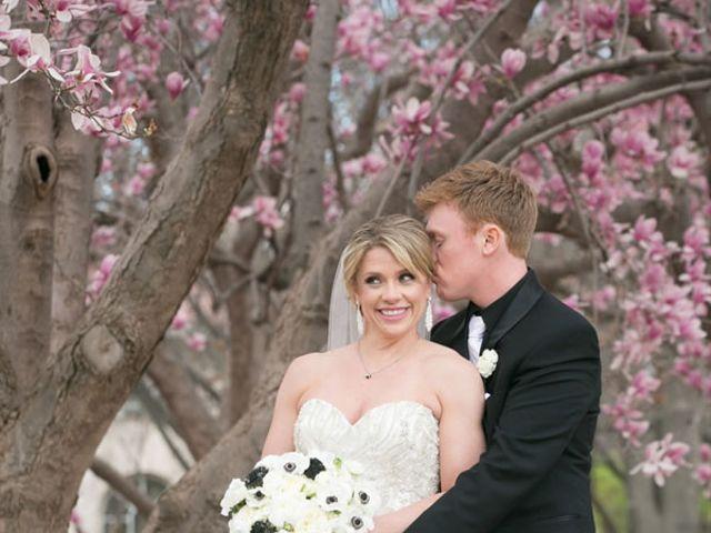 The wedding of Chris and Jennifer