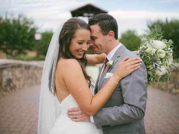 The wedding of Christina and Geoff