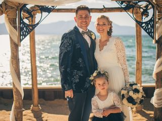 The wedding of Katie and Nick