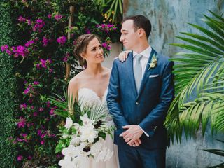 The wedding of Grace and Kyle