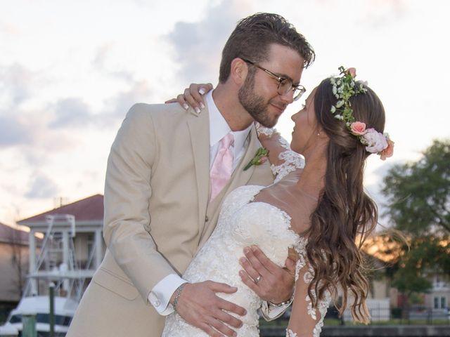 The wedding of Kat and Christian