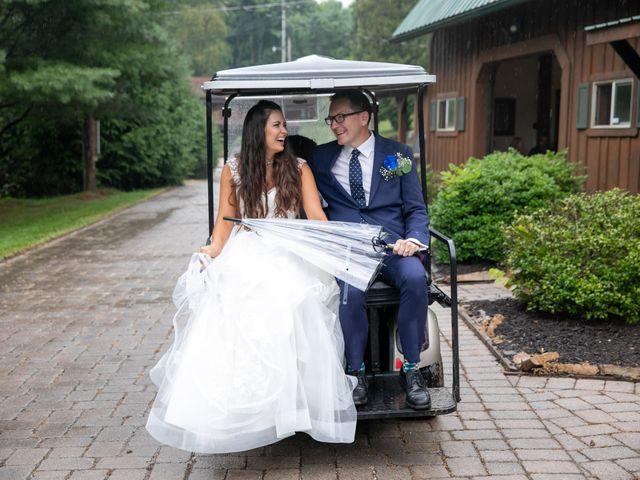 The wedding of Nina and Shane