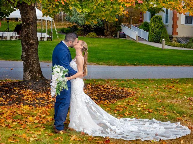 The wedding of Liz and Ryan