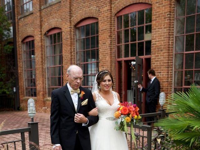 Alex and Alicia's wedding in Georgia 9