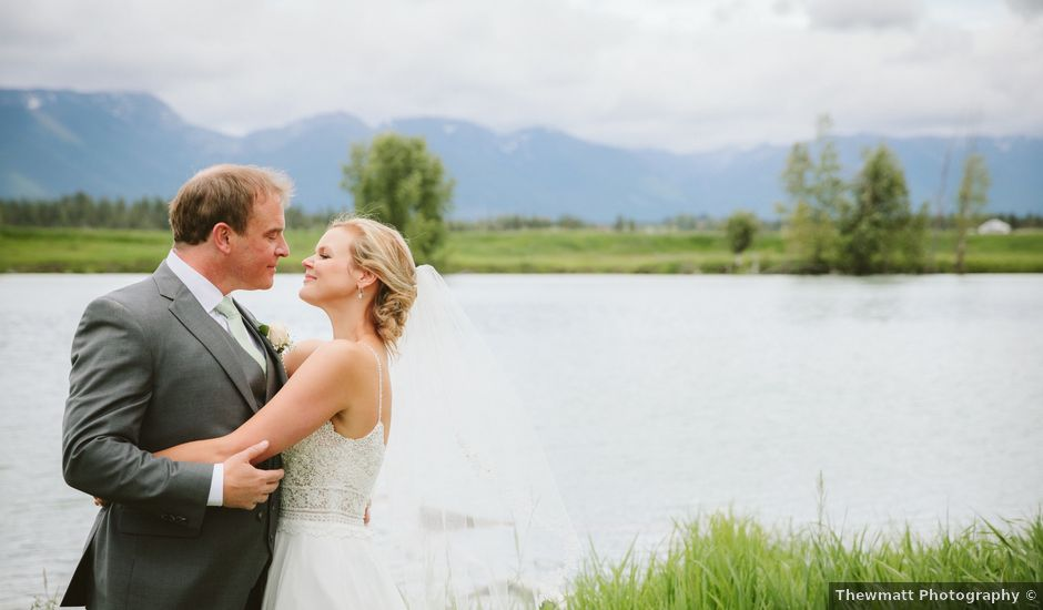 Gavin and Jaimee's Wedding in Kalispell, Montana
