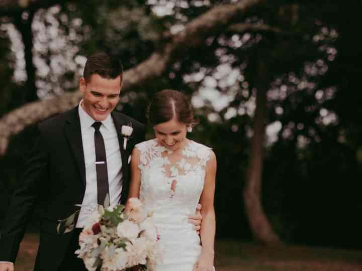 The wedding of Tim and Cara