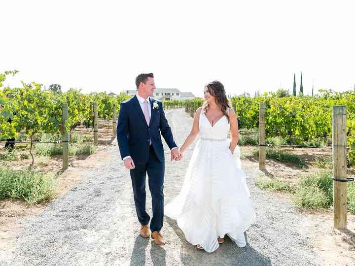 The wedding of Megan and Thomas