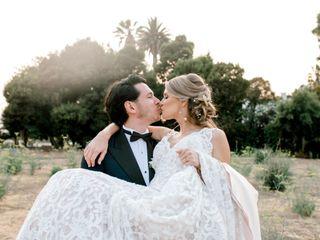 The wedding of Kim and Oki