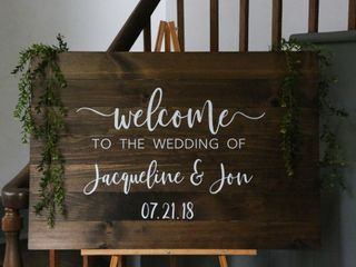 The wedding of Jacqueline and Jon 2