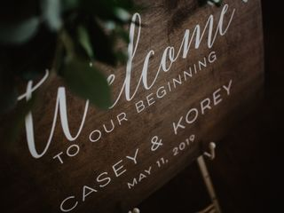 The wedding of Casey and Korey 2