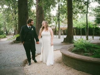 The wedding of Victoria and Brandon