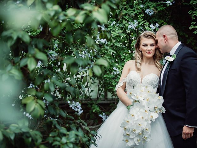 The wedding of Greg and Greta