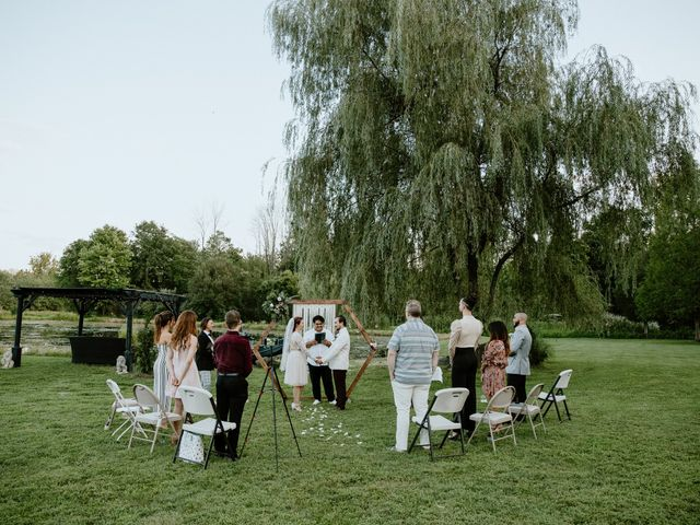 Tom and Nicole's Wedding in Penns Creek, Pennsylvania 13