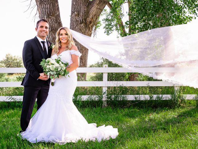 The wedding of Kayla and Corey