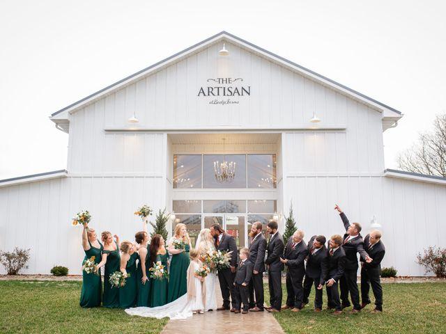 Kyle and Rachel's Wedding in Bloomsdale, Missouri 9