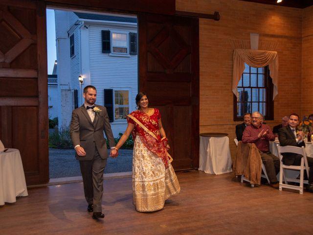 David and Pooja's Wedding in Bristol, Rhode Island 3