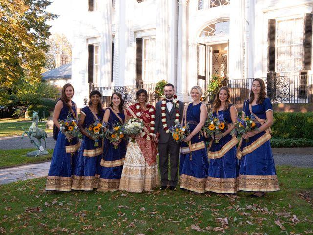 David and Pooja's Wedding in Bristol, Rhode Island 14