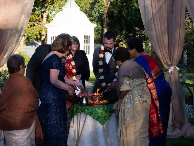 David and Pooja's Wedding in Bristol, Rhode Island 15