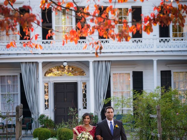 David and Pooja's Wedding in Bristol, Rhode Island 16