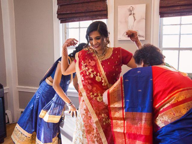David and Pooja's Wedding in Bristol, Rhode Island 22