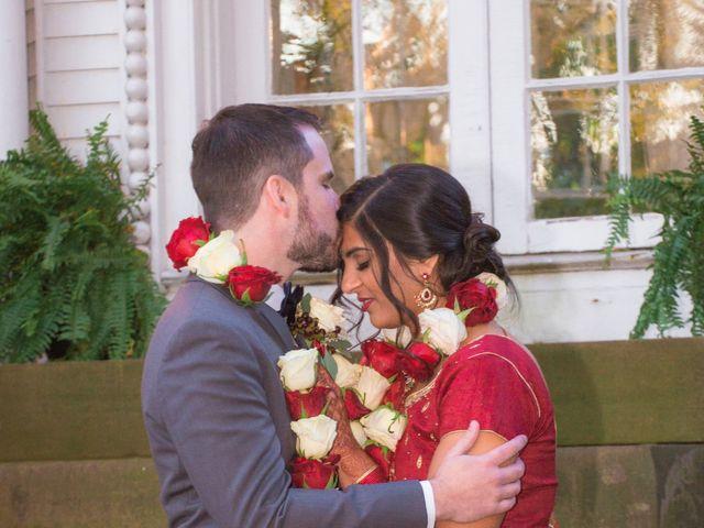 David and Pooja's Wedding in Bristol, Rhode Island 34