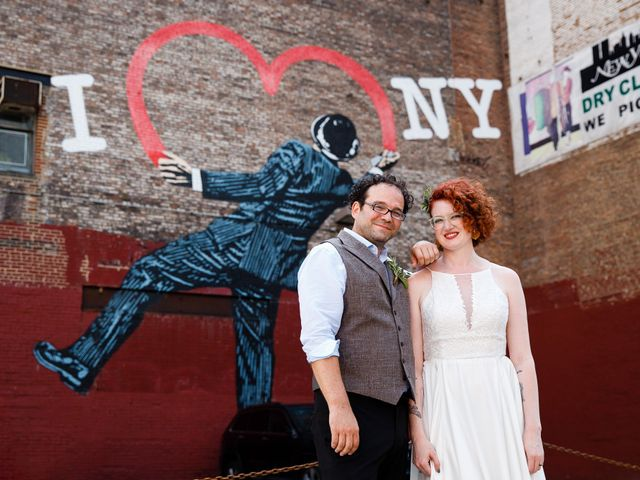 Simon and Ali's Wedding in New York, New York 51