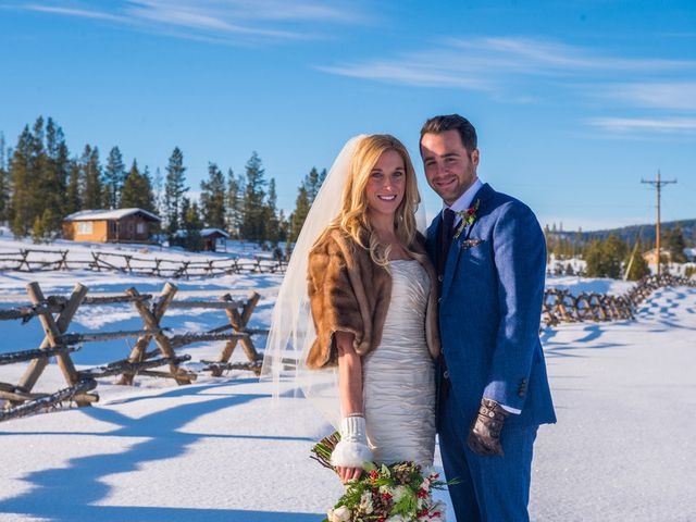 The wedding of Christopher and Natalie