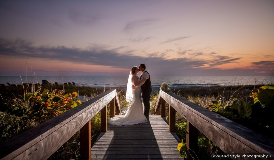 Dominick and Brittney's Wedding in Longboat Key, Florida