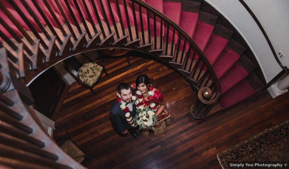 David and Pooja's Wedding in Bristol, Rhode Island