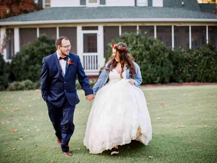 The wedding of Morgan and Taylor