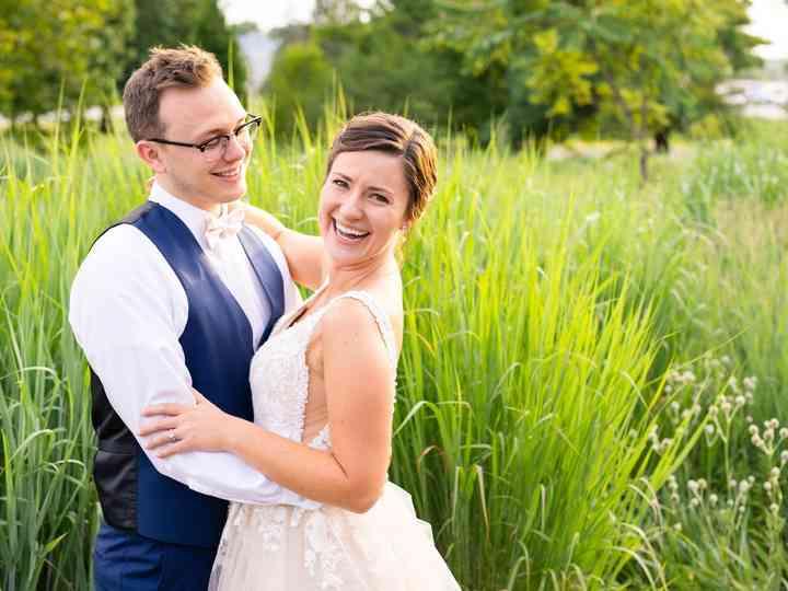 The wedding of Zach and Michaela