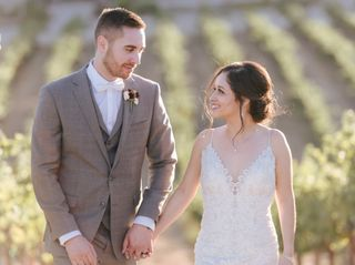 The wedding of Edith and Kyle