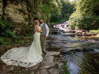 The wedding of Benjamin and Lisa