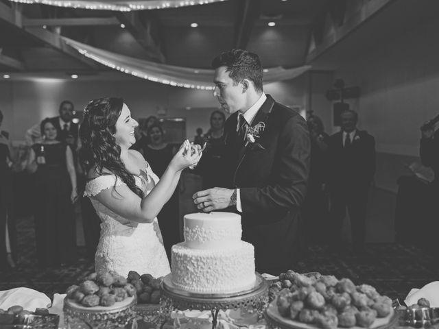 Brandon and Jordan's Wedding in Covington, Ohio 4